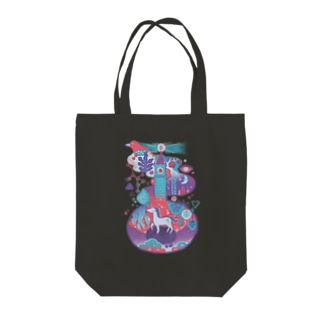 Wonderland Tote bags