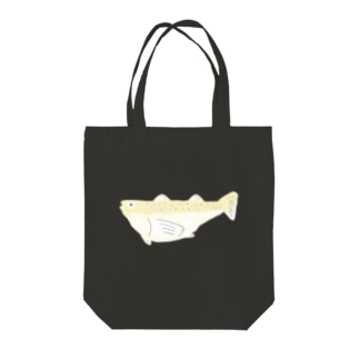 ハタハタ Tote bags