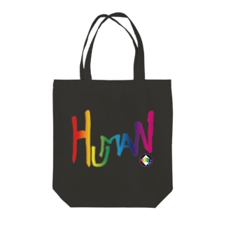 human Tote bags