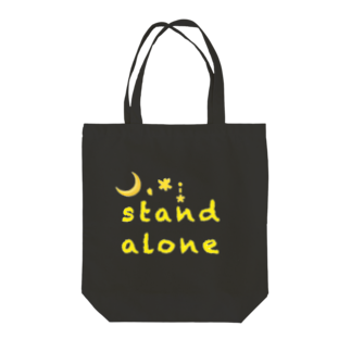 FFLprojectのStand Alone ver.2 黒対応 Tote bags