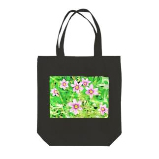 道端の花 ニワゼキショウ Tote bags
