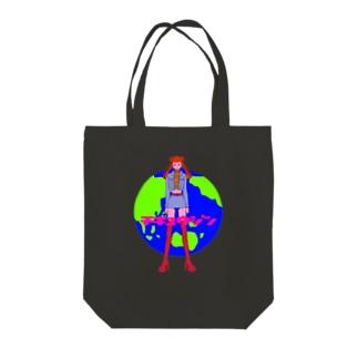 うめだ米太郎のトートバック Tote bags
