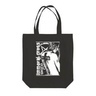 背徳の十字架 Tote bags