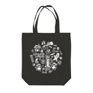 ラ・レボルション(柄・黒) Tote Bag