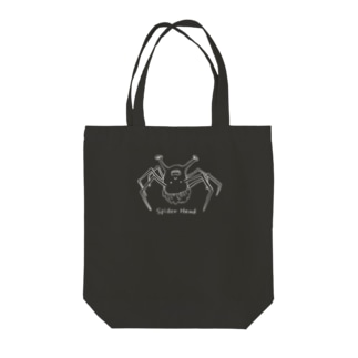 spider head(スパイダーヘッド) Tote bags