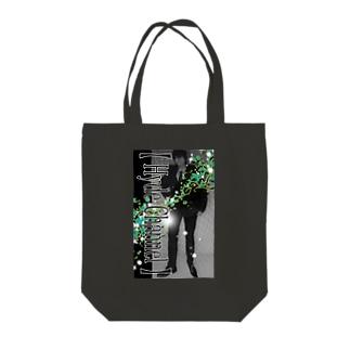 【舎弟運UP !】Green-Hyde Tote bags