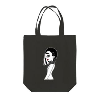 女性的デザイン Tote bags