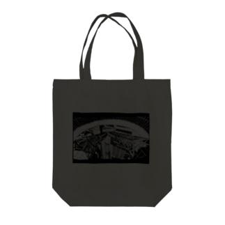 梅田スカイビル Tote bags