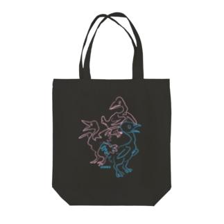 三羽 Tote bags