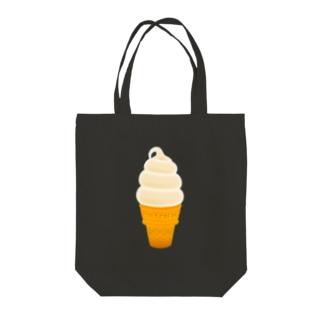 🍦光るソフトクリーム Tote bags