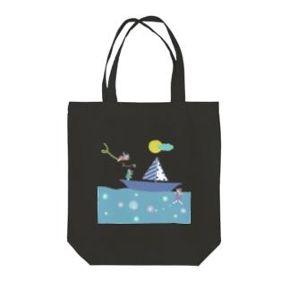 フェアリーさん『summer~海風~』パステル Tote bags