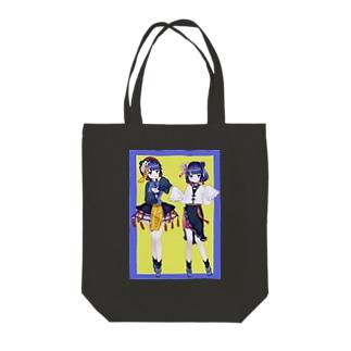 オタク用美少女 Tote bags
