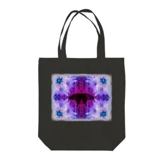 ∞クロアゲハ for black Tote bags