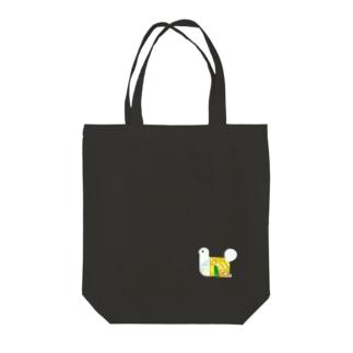 パタパタ 鳥 一匹バージョン Tote bags