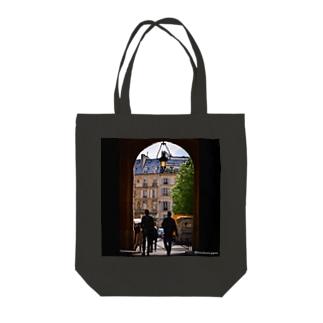 パリの街角シリーズ Tote bags