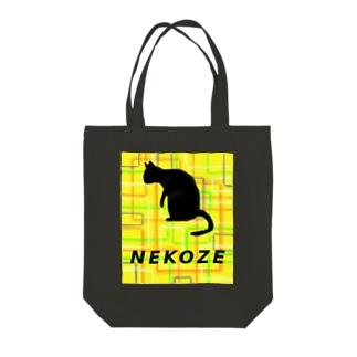 NEKOZEスクエア Tote Bag