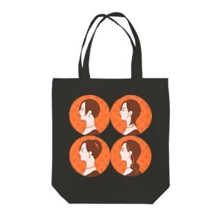 colorfulのオランジェット・イメチェン Tote bags