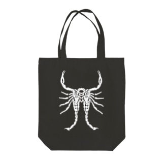 MALFORMATION 白/DB_25 Tote bags