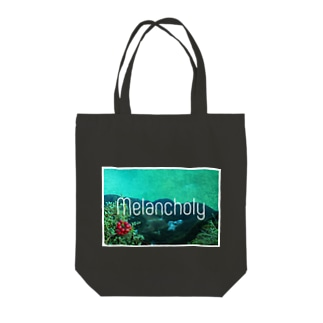 cherieのメランコリー白枠あり Tote bags