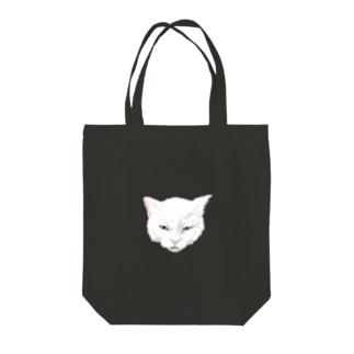 猫 Tote bags