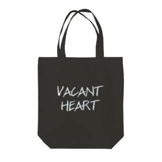 VACANTHEARTのVACANT HEART Tote bags