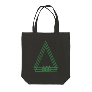 御岳のみどりカラー Tote bags