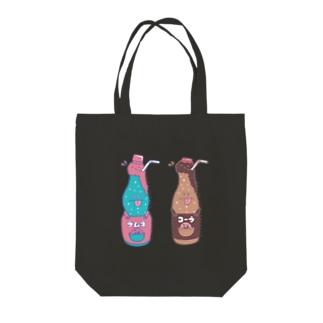 F/aのコーラさんとソーダさん Tote bags