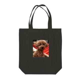 チワプーむぎちゃん Tote bags