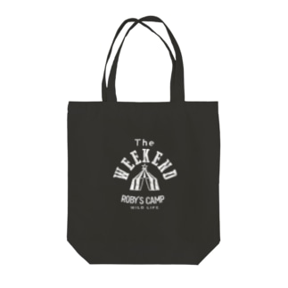 ROBY'S CAMP WEEKENDトート Tote bags