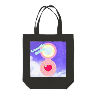 マジカルコンパクト Tote bags