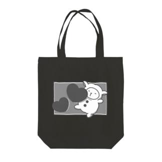 モノクロセバス Tote bags