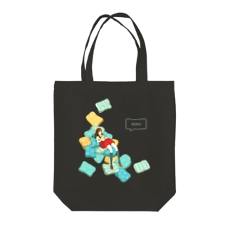 ULIのpillow(白色だと少し安い) Tote bags
