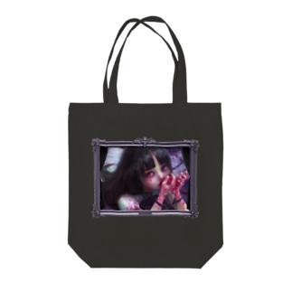 青柳カヲルのPassion berry トート Tote bags