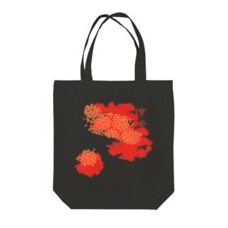 紅津軽 Tote bags