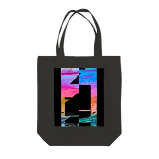 Slow Lines Tote bags