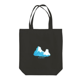 クラウド Tote bags
