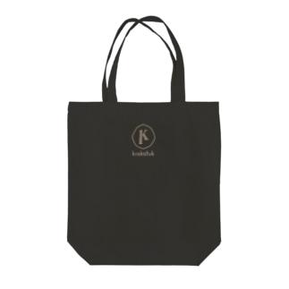 krakatukLOGO (ブラック) Tote bags