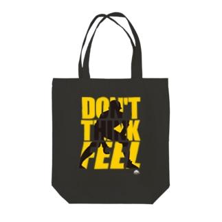 「リー! リー!! リー!!!」 Tote bags