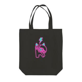 手書きロゴ Tote bags