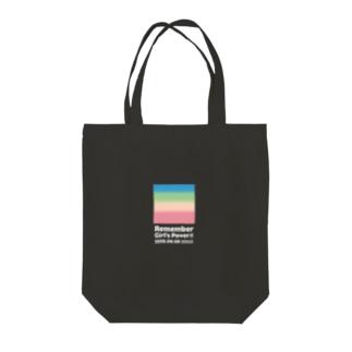 GRADATION BOX TOTO(寄附金込) Tote bags