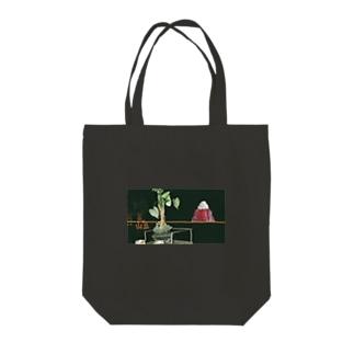 日没/日出 Tote bags