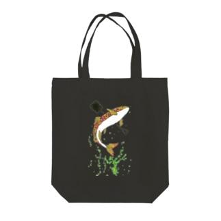 球磨川 Tote bags