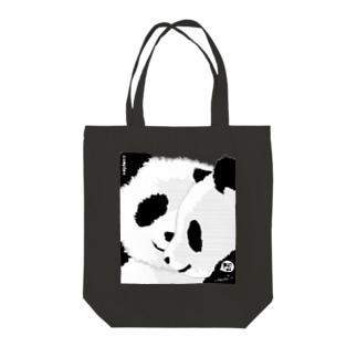 PANDA COMPLEX パンダ頭複合体 Tote bags