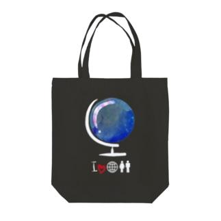 宇宙儀 Tote bags