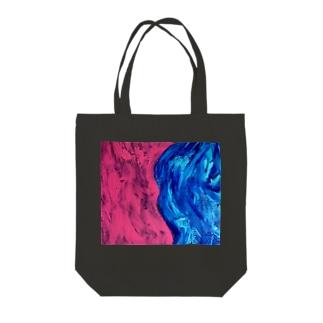 waves Tote bags