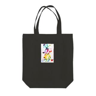 笑顔で過ごそう Tote bags