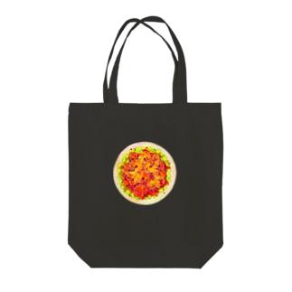 エビチリcat Tote bags