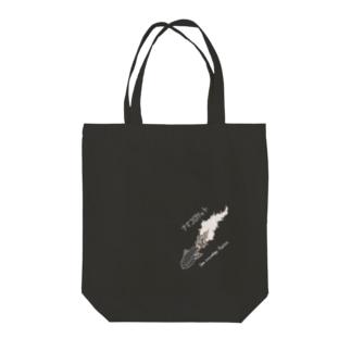 ナナメに!ナマコロケットセピア調濃色用 Tote bags