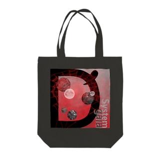 スパイダー🕷月モンジョ Tote bags