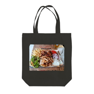 Hungry Sin Tote bags